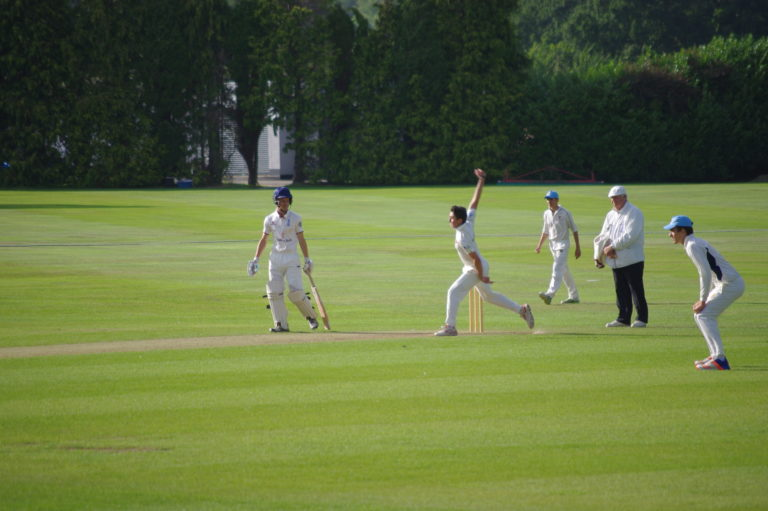 Leg spin being launched!