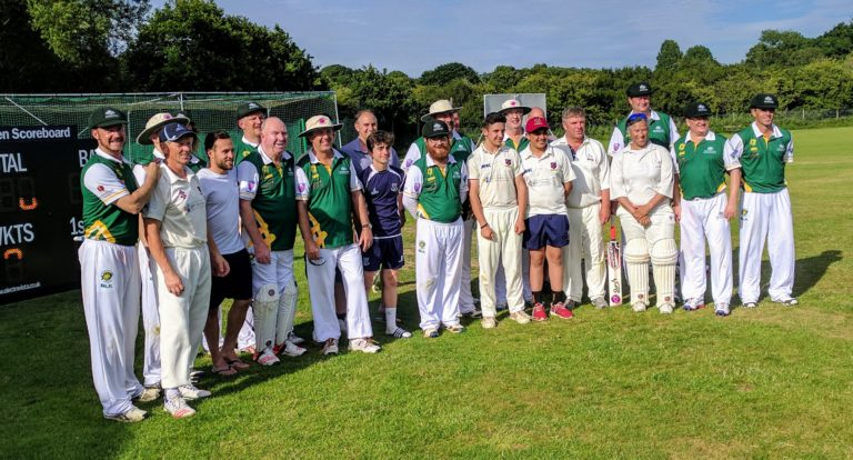 Australian Transplant XI with Sussex Martlets