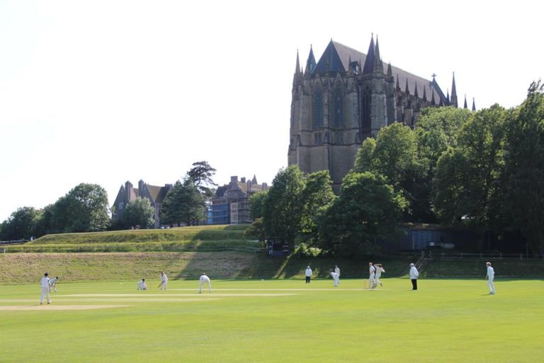 Cricket at Lancing College (Ack: The Forty Club)