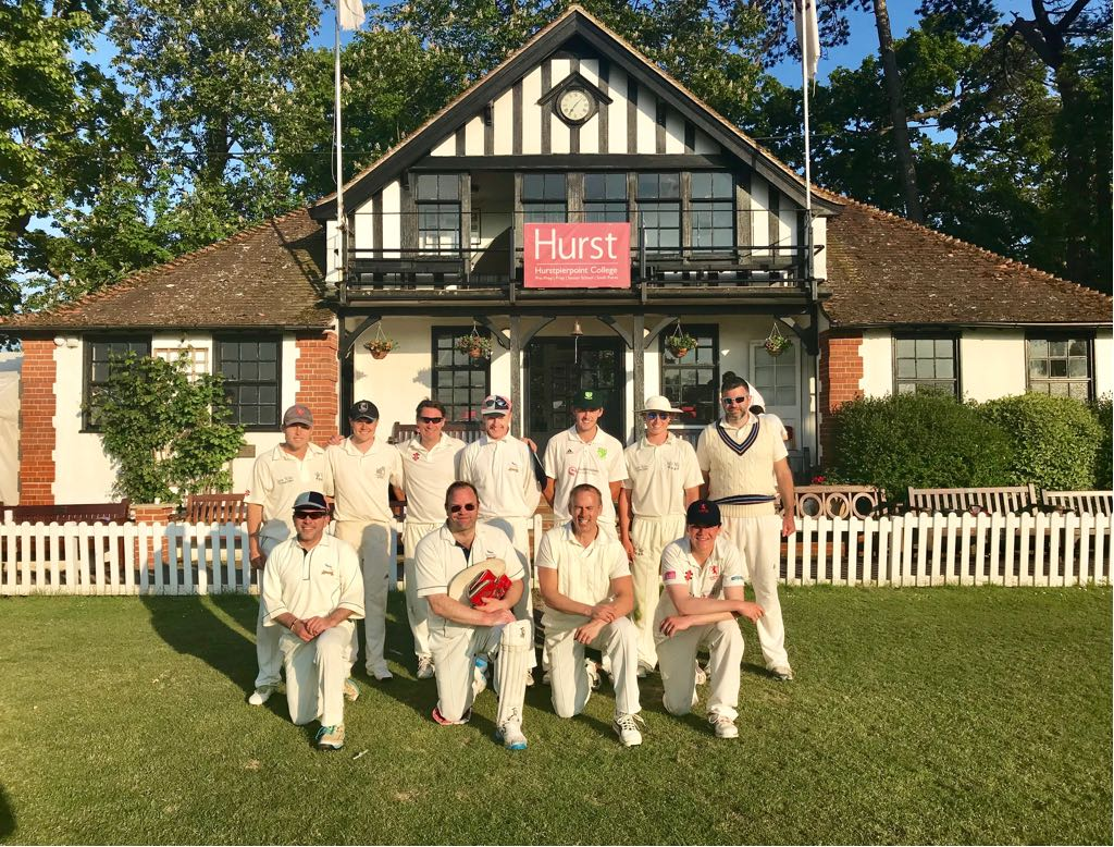 Sussex Martlets record a win by 17 runs in a nail biting finish