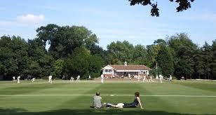 Cricket at St George's, Weybridge